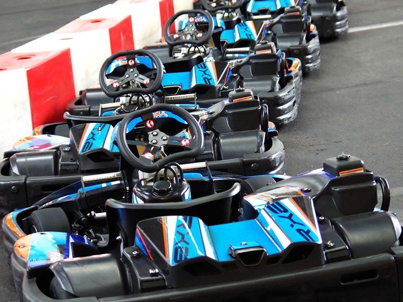 Pista Azzurra di Go Kart Hotel Garni San Carlo
