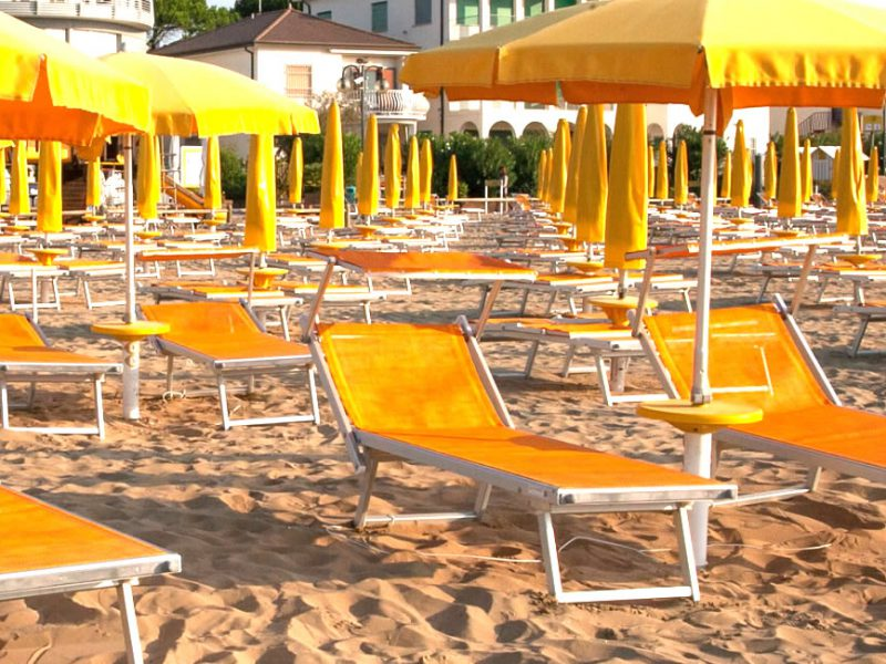 Private Beach Hotel Garni San Carlo