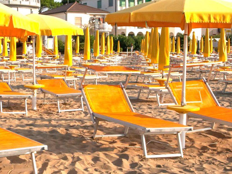 Prywatna plaża Hotel Garni San Carlo